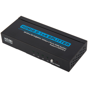 HDMI2.0 1x4 Splitter (3D Ultra HD 4Kx2K@60Hz HDCP2.2)