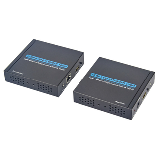 HDMI KVM Extender 150m over lan cable with IR+TCP/IP