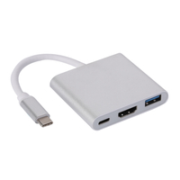 TYPE C TO USB3.0+HDMI FEMALE+PD