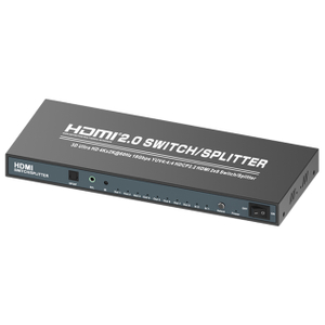 HDMI2.0V 2x8 Swtich/Splitter(3D Ultra HD 4Kx2K@60Hz)