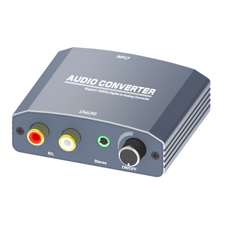 Digital to Analog Audio Converter With Amplifier