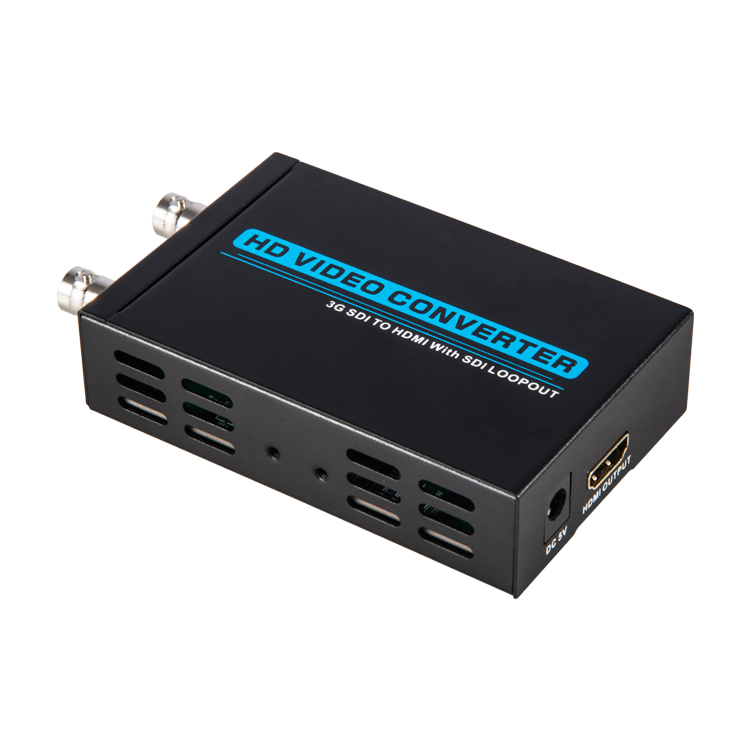 3G SDI to HDMI Converter(With SDI Loopout)