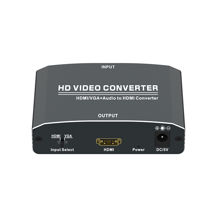 HDMI/VGA+Audio to HDMI Converter