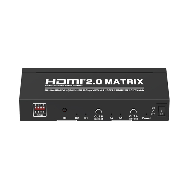 HDMI2.0V 2x2 Matrix(3D Ultra HD 4Kx2K@60Hz)