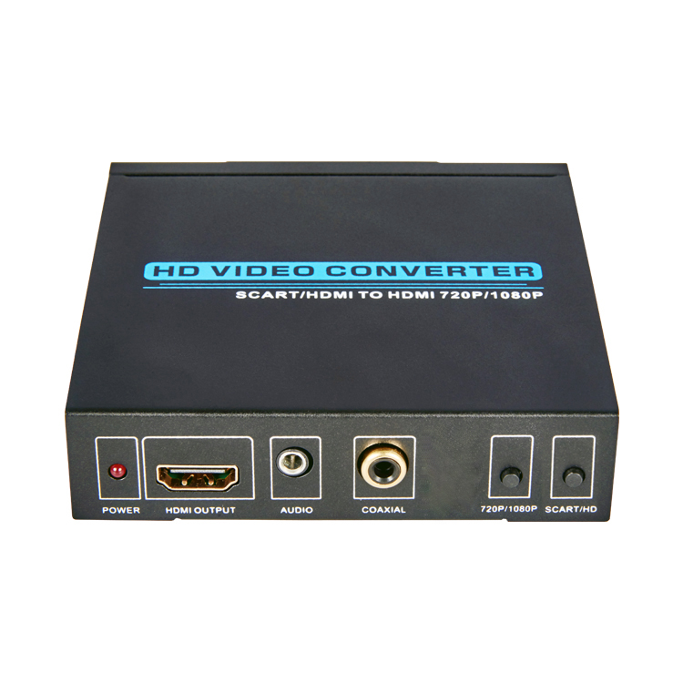 Scart/HDMI to HDMI Converter(Up Scaler)