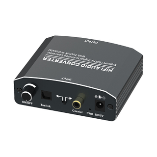 Digital to Analog +Digital Audio Converter